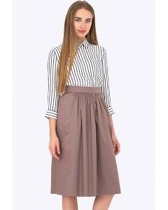 Весенне-летняя юбка на поясе Emka Fashion 680/zinaida