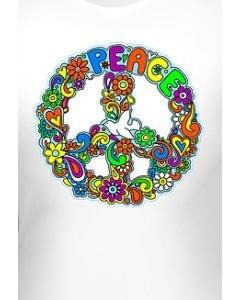 Клубная женская футболка Peace