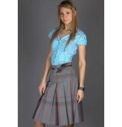 Недорогая стильная юбочка