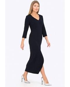Длинное трикотажное платье Emka Fashion PL-524/vengera