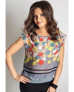 Лёгкая летняя блузка TopDesign 6 127
