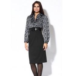 Платье с эффектом юбки и блузки
