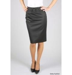 Простая юбка черного цвета | 211-nobi