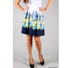 Летняя юбка из натуральных тканей