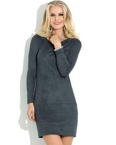Короткое трикотажное платье Donna Saggia DSP-113-74t