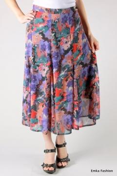 Юбка из шифона Emka Fashion   295-avrora