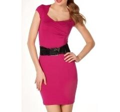 Платье цвета фукция