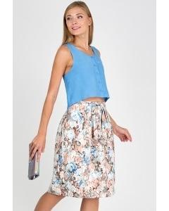 Летняя юбка Emka Fashion 536-norma
