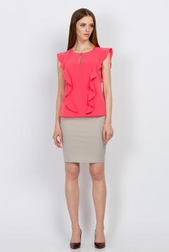 Розовая блузка Emka Fashion b 2145/shirli