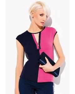 Стильная блузка с вырезом-молнией Zaps Isabel