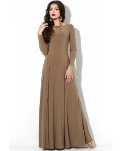 Длинное трикотажное платье Donna Saggia DSP-211-26t