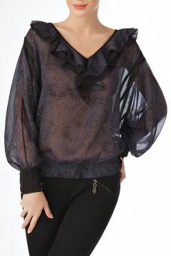 Нарядная блузка из тончайшего шифона | Б775-1325-1286
