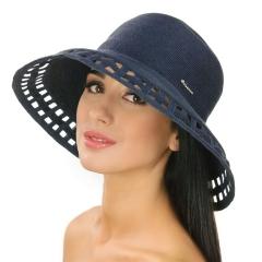 Шляпа джинсового цвета Del Mare 005-12