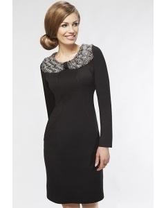 Черное платье Enny 16041