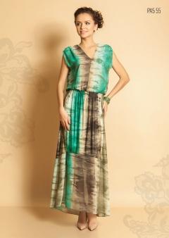 Длинное платье Topdesign Premium PA5 55