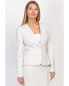 Укороченный женский жакет Enka Fashion ML-501/melitta