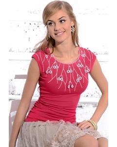 Малиновая блузка Zaps Lea