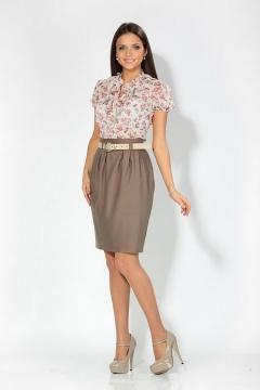 Цветочная блуза (Весна-лето 2012)   4653/1