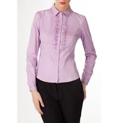 Женская блузка с жабо
