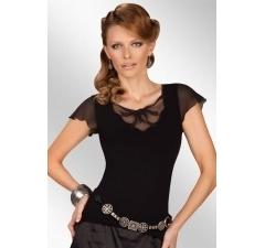 Черный женский топ Eldar Donna