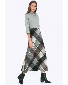 Шерстяная юбка Emka S314/agnessa