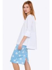 Хлопковая летняя юбка Emka 605-1/dipti