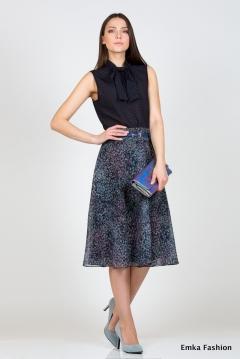 Летняя юбка Emka Fashion 484-falda