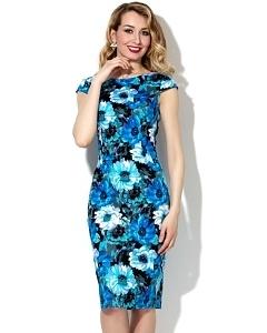 Летнее платье-футляр Donna Saggia DSP-180-19