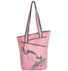 Розовая женская сумка Grizzly | МД-1509