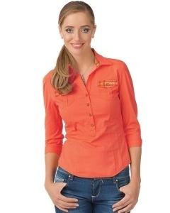 Оранжевая блузка Golub