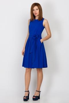 Синее платье Emka Fashion PL-457/alpa