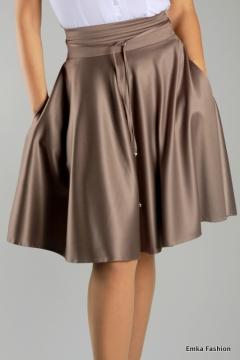 Блестящая юбка Emka Fashion   276-mary