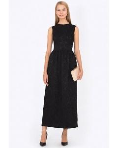 Элегантное вечернее платье из жаккарда Emka PL-551/alfira