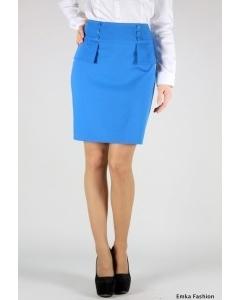 Голубая юбка Emka Fashion | 340-millan