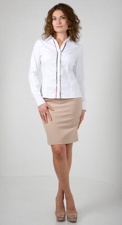 Хлопковая женская рубашка Golub Б898-2583-1758