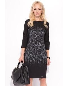 Чёрное платье Zaps Malta