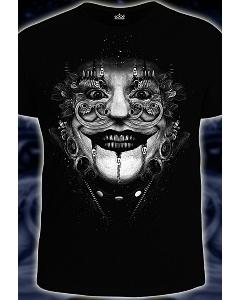 Мужская футболка 3D Клоун (Светится в темноте)