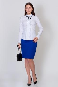 Синяя юбка Emka Fashion 202-60/vasilisa