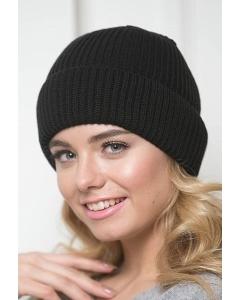 Чёрная женская шапка Landre Рим