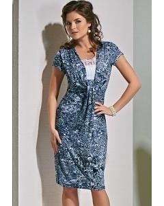 Легкое летнее платье TopDesign A4 155