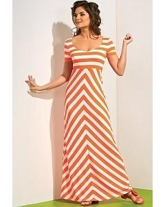 Длинное летнее платье TopDesign A4 036