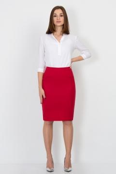 Красная юбка-карандаш Emka-Fashion 500-banni