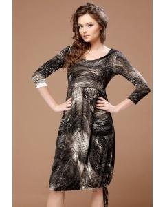 Приталенное платье TopDesign | B1 041