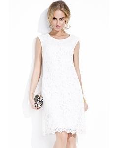 Белое кружевное платье Zaps Celestia