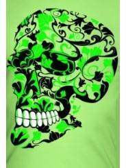 Клубная мужская футболка Skull