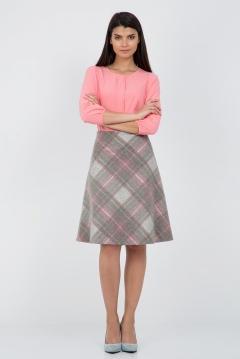 Шерстяная юбка-колокол Emka Fashion 416-energiya