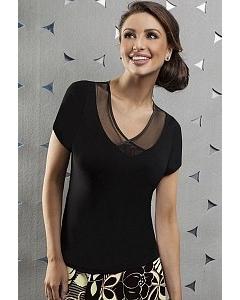 Черная блузка Enny | 15010