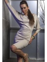 Платье с рукавом летучая мышь | DSP-96-45t