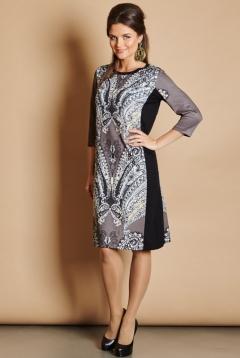 Платье свободного кроя TopDesign Premium PB5 26
