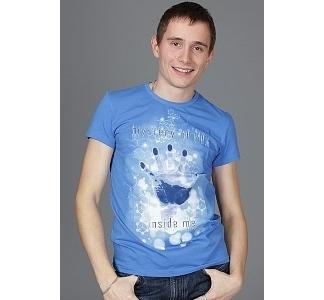 Мужская футболка Mystery of Life (Светится в ультрафиолете)